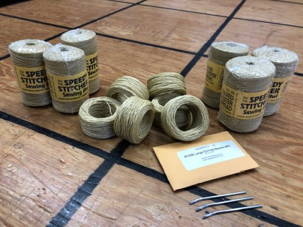 Leather Craft Thread and Needles- Supplies for Your Speedy Stitcher are On Sale!