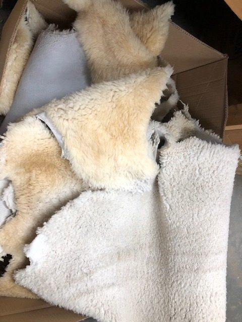 shearling hides for sale