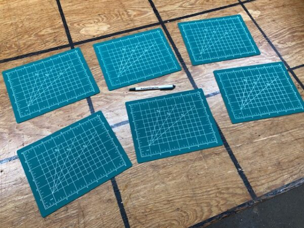 Small Cutting Mat for Rotary Cutting Your Leather or Using a Punch and Mallet