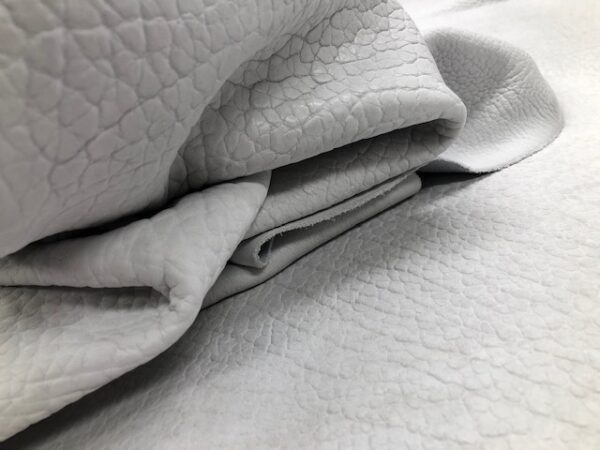USA Bison Sides in White are thick and soft, useful for garments or blankets