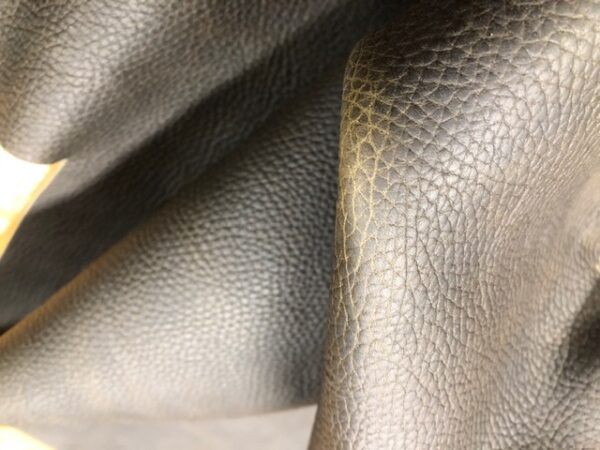 Leather Hide Clearance Sale Item 213 Dark Brown Oil Tanned Leather