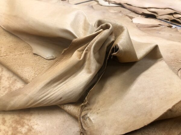 Deer Hides in Smokey Tan are Soft and Run about 7-8 Square Feet on Average