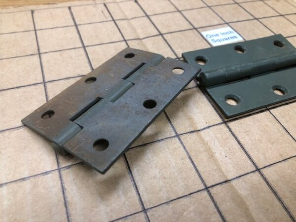 New Old Stock US Army Footlocker Hinges Sold in pairs; Limited Supply