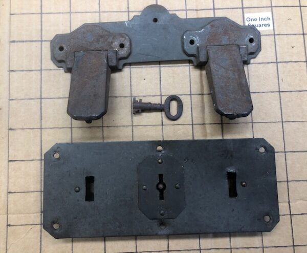 Old Stock Double Trunk Lock with Key