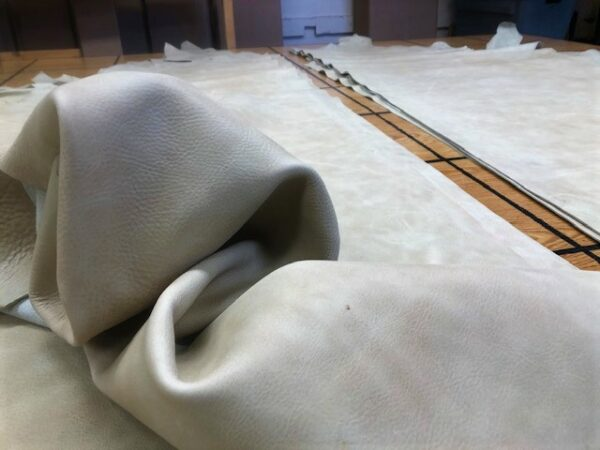 Wheat Sides are Wonderfully Soft and Suitable for Garments or Bags