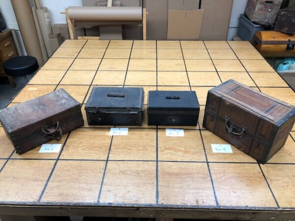 Document Boxes/Small Trunks from the 1880s!