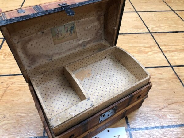 Late 1800s Doll Trunks In As-Found Condition