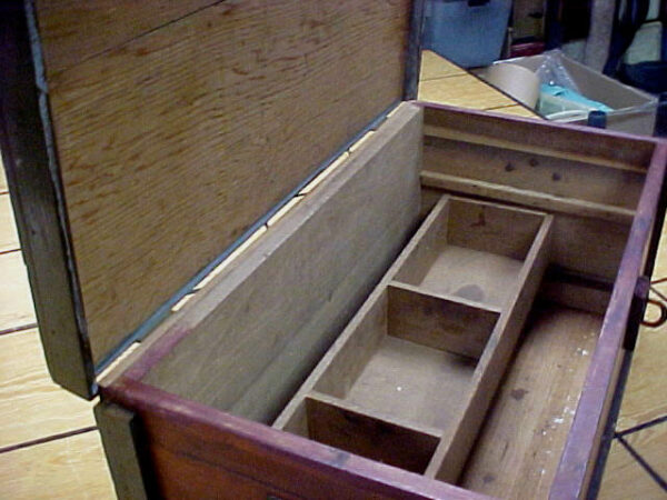 T927 Toolbox Made By a Carpenter in the early 1900s