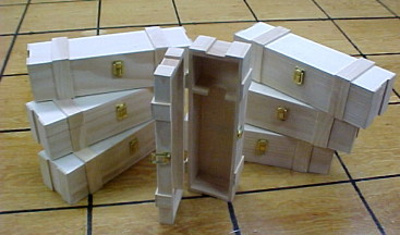 Wooden Wine Boxes for The Big Day