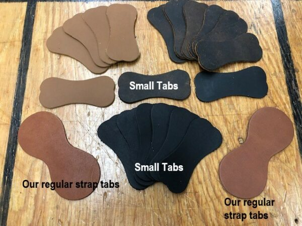 A Smaller Strap Tab for Smaller Antique Trunks