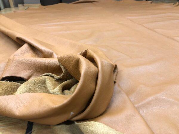 sunset tan leather hide on sale